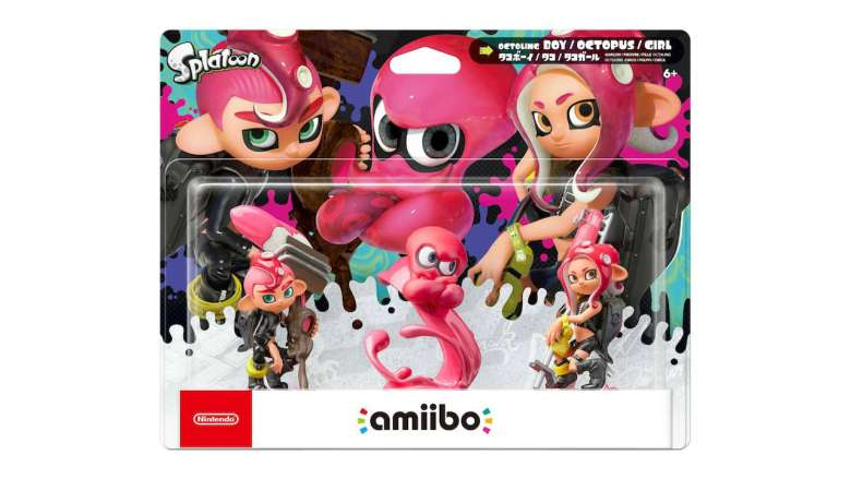Splatoon Octoling amiibo Pack Shot