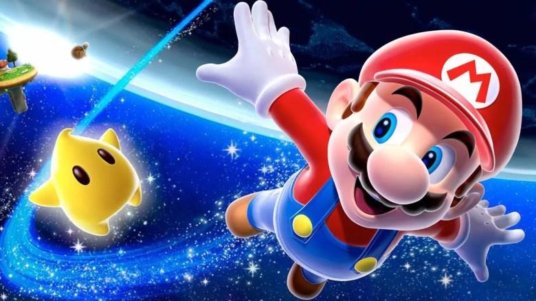Super Mario Galaxy Artwork