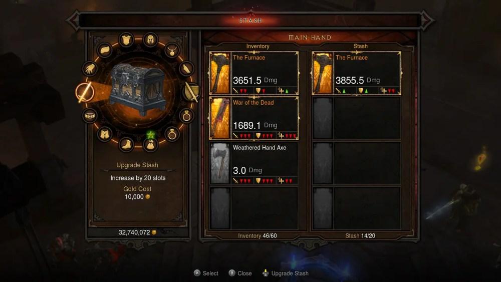 Diablo III Eternal Collection Switch Screenshot 17