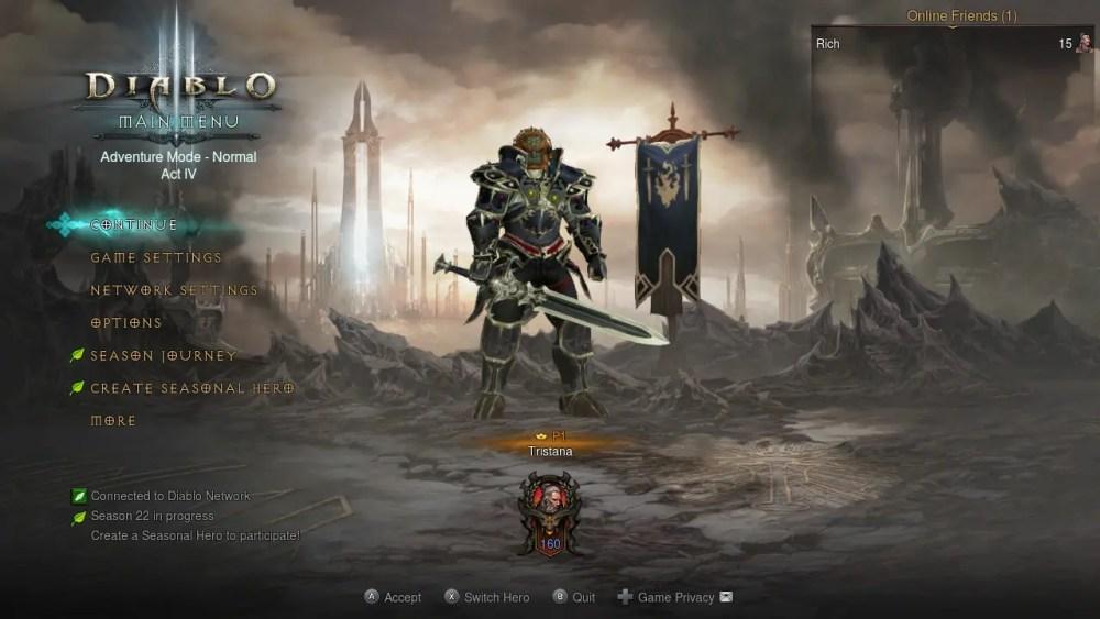 Diablo III Eternal Collection Switch Screenshot 7