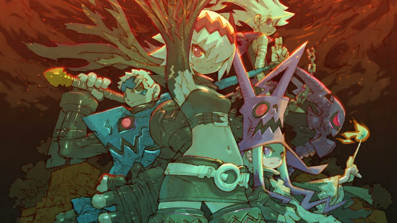 Dragon Marked For Death Artwork