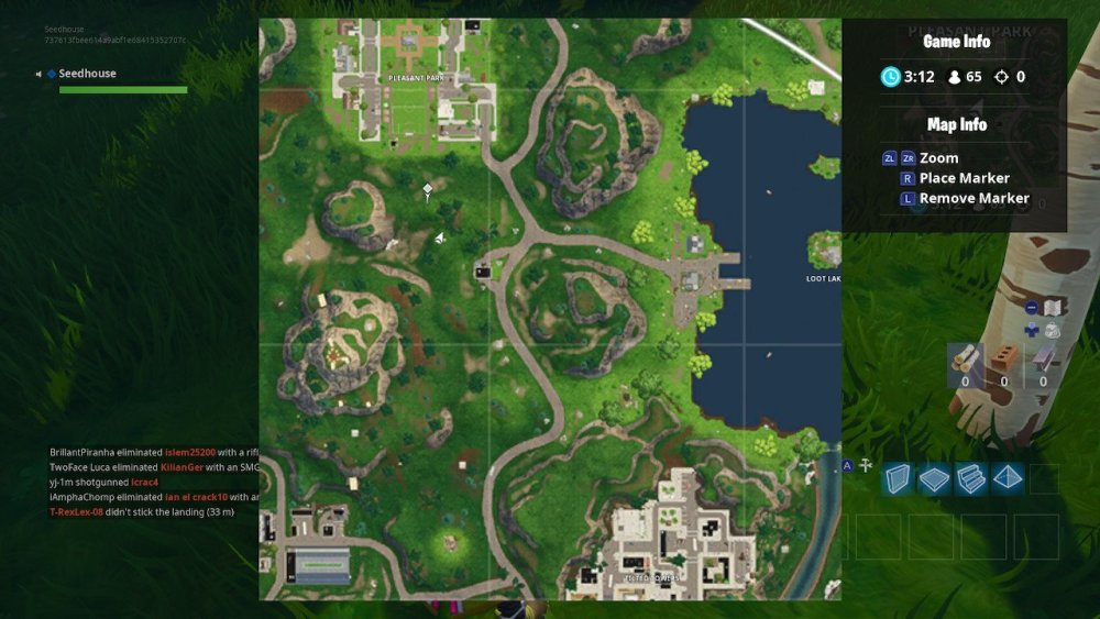 Fortnite Gas Station Soccer Pitch Stunt Mountain Map