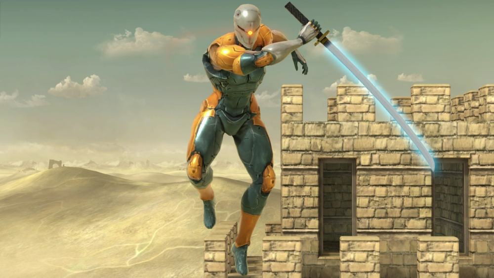 Gray Fox Super Smash Bros. Ultimate Screenshot