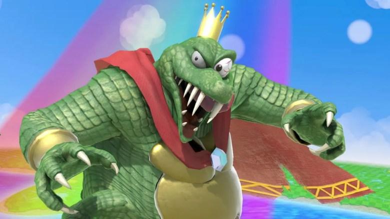 King K. Rool Super Smash Bros. Ultimate Screenshot