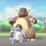 Mega Kangaskhan Pokémon Let's Go Screenshot