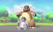 Mega Kangaskhan Pokémon Let's Go Screenshot