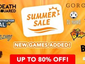 Nintendo eShop Summer Sale Advert
