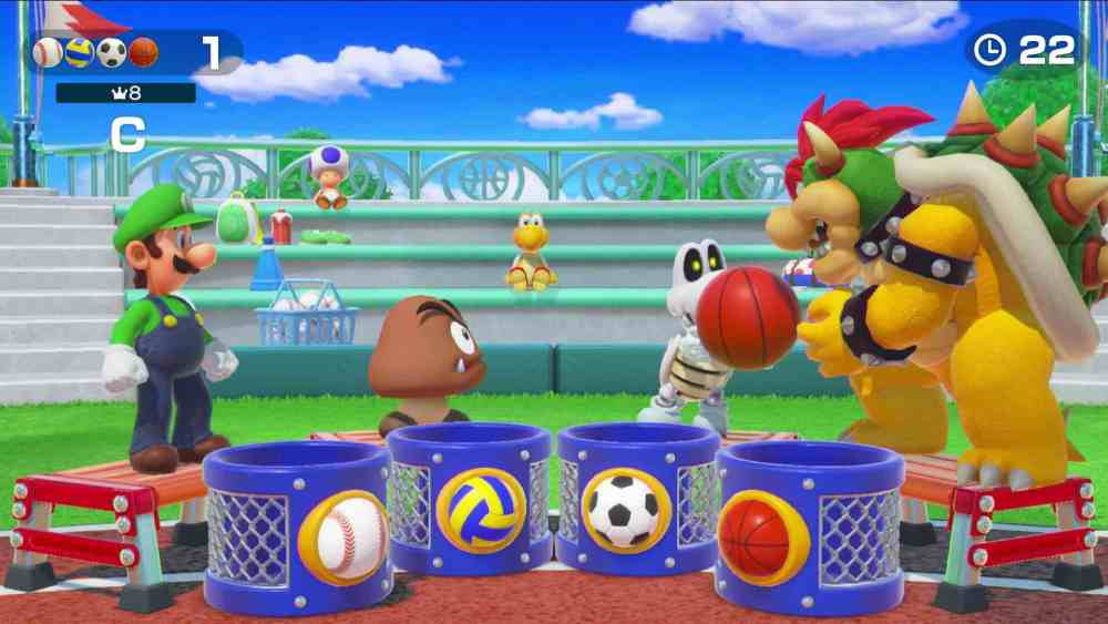 Super Mario Party Mini-Game Screenshot