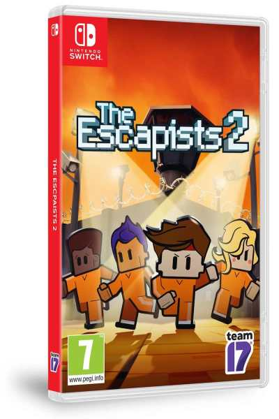 The Escapists 2 Box Art