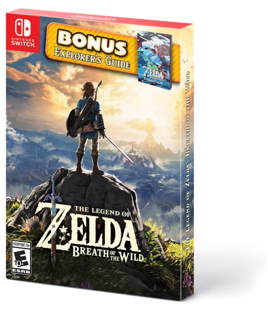 The Legend of Zelda: Breath of the Wild Starter Pack