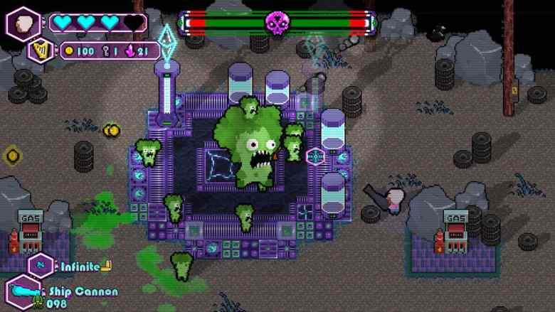 The Walking Vegetables: Radical Edition Screenshot