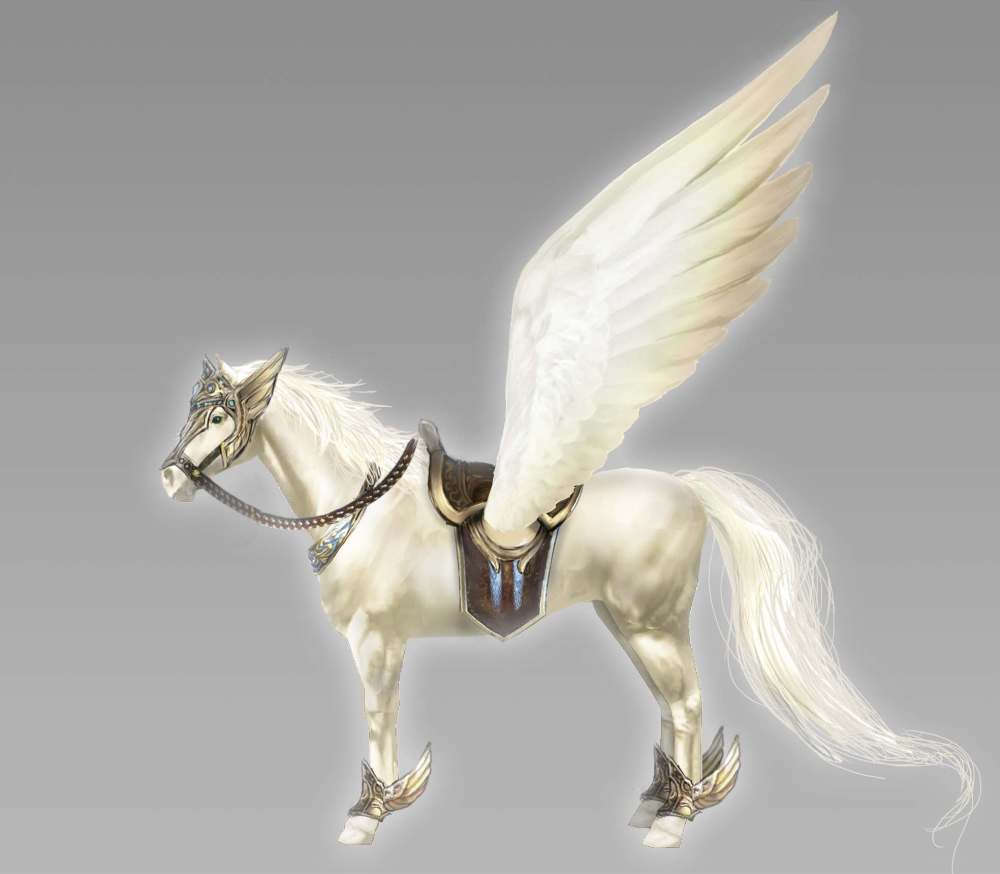 Warriors Orochi 4 Pegasus Mount