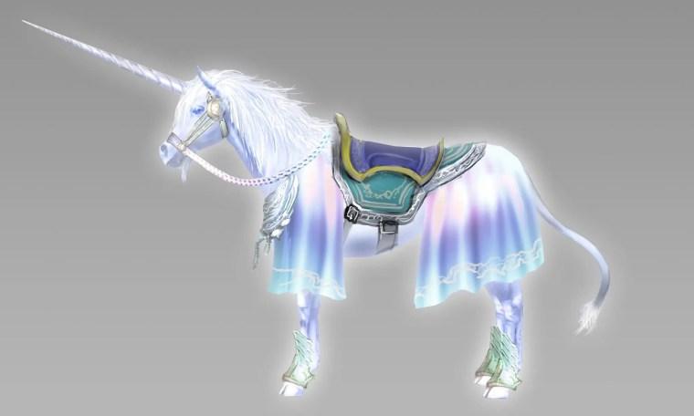 Warriors Orochi 4 Unicorn Mount