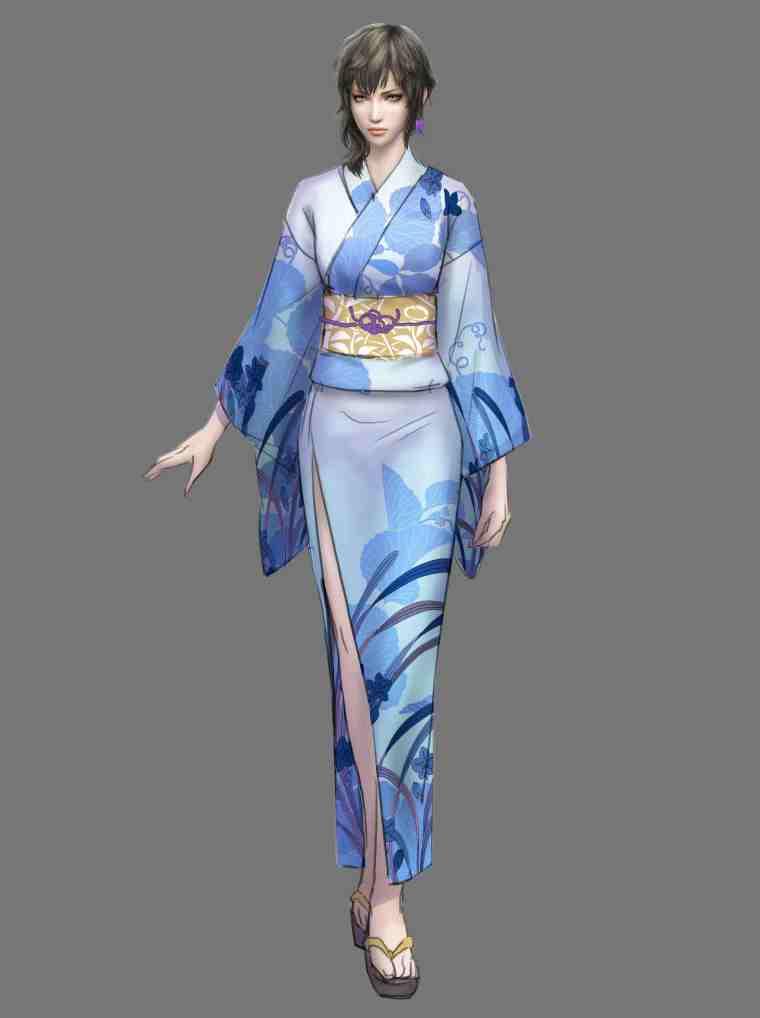Warriors Orochi 4 Wang Yi Alternate Costume