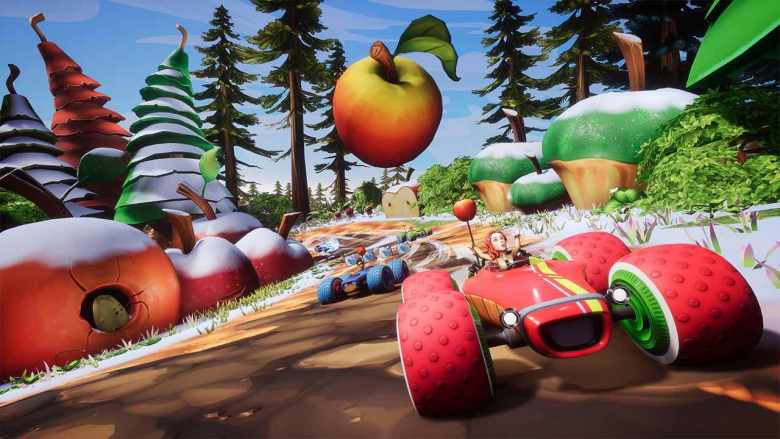 All-Star Fruit Racing Screenshot