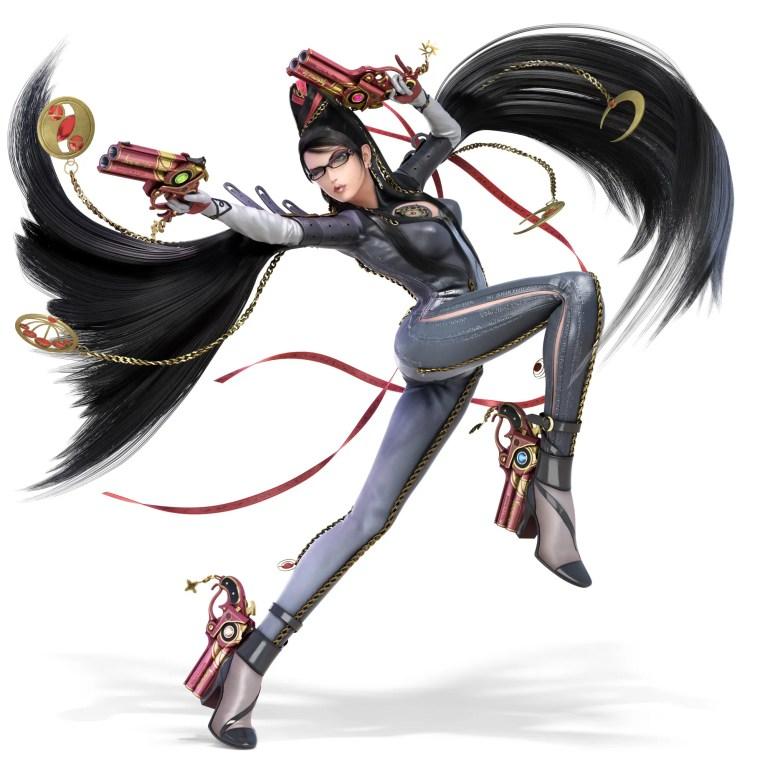 Bayonetta Super Smash Bros. Ultimate Character Render