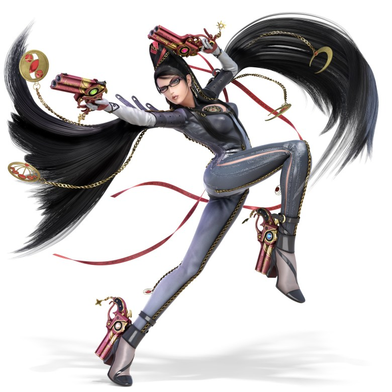 Bayonetta Super Smash Bros. Ultimate Character Render