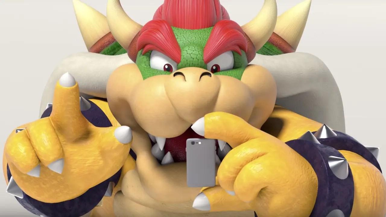 Bowser Nintendo Switch Parental Controls App