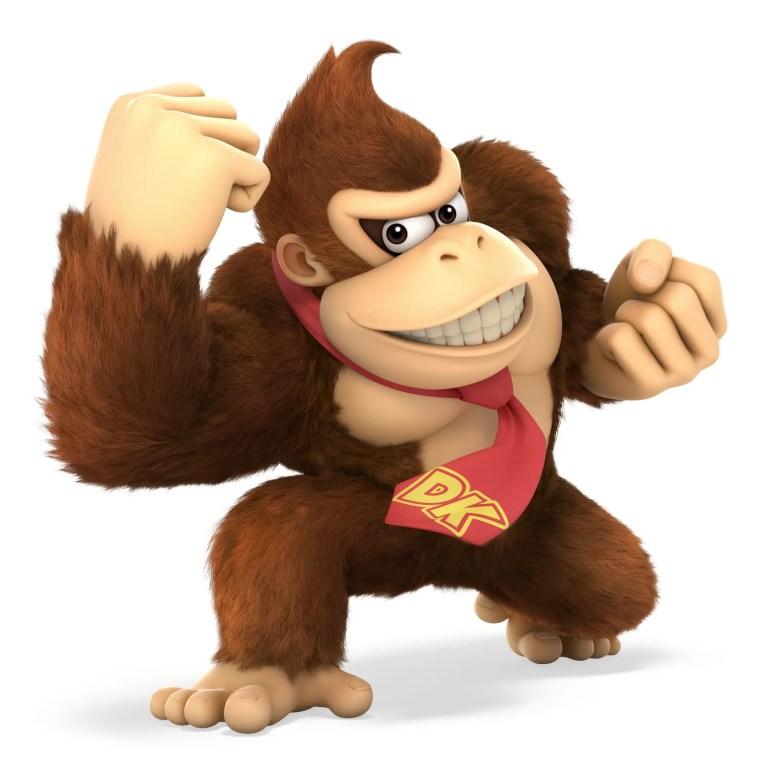 Donkey Kong Super Smash Bros. Ultimate Character Render