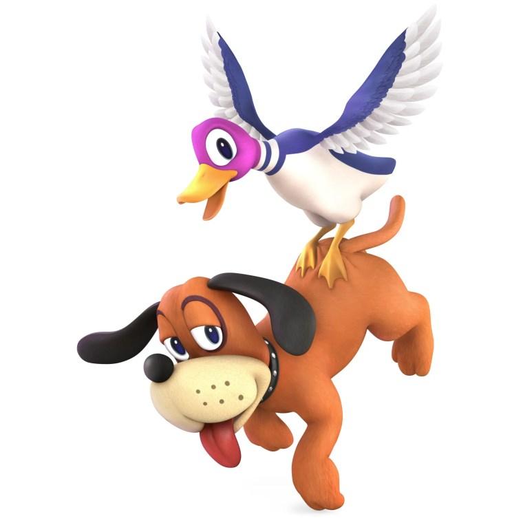 Duck Hunt Duo Super Smash Bros. Ultimate Character Render