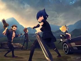 Final Fantasy XV Pocket Edition HD Review Header