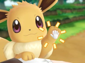 Interaction Pokémon Let's GO, Eevee! Screenshot