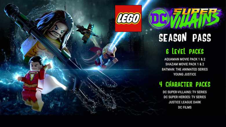 LEGO DC Super-Villains Season Pass Image