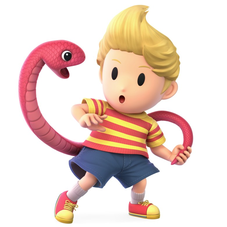 Lucas Super Smash Bros. Ultimate Character Render