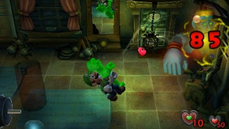 Luigi's Mansion Screenshot