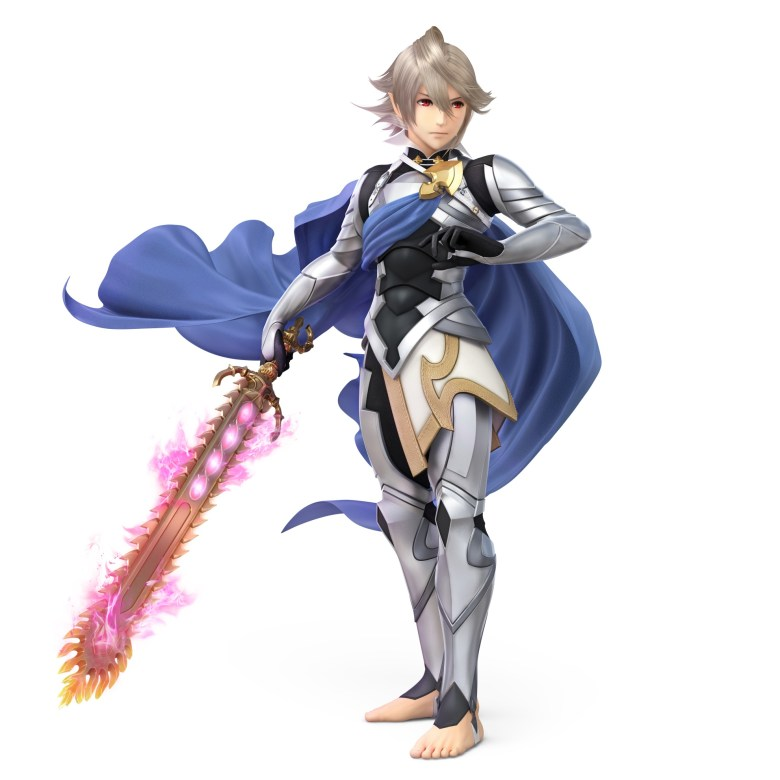 Male Corrin Super Smash Bros. Ultimate Character Render