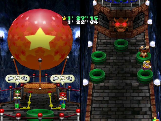 Mario Party 4 Dungeon Duos Screenshot