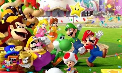 Mario Party 8 Artwork