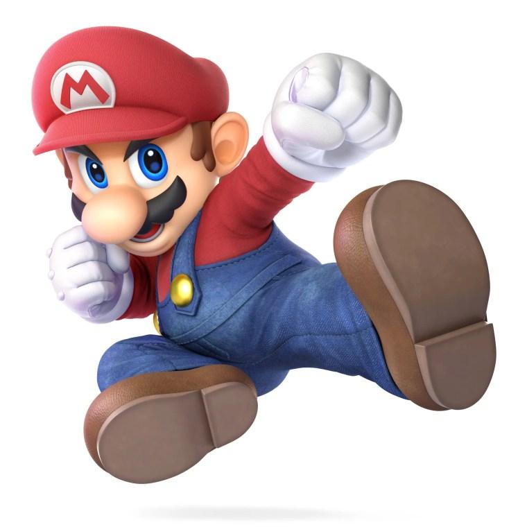 Mario Super Smash Bros. Ultimate Character Render
