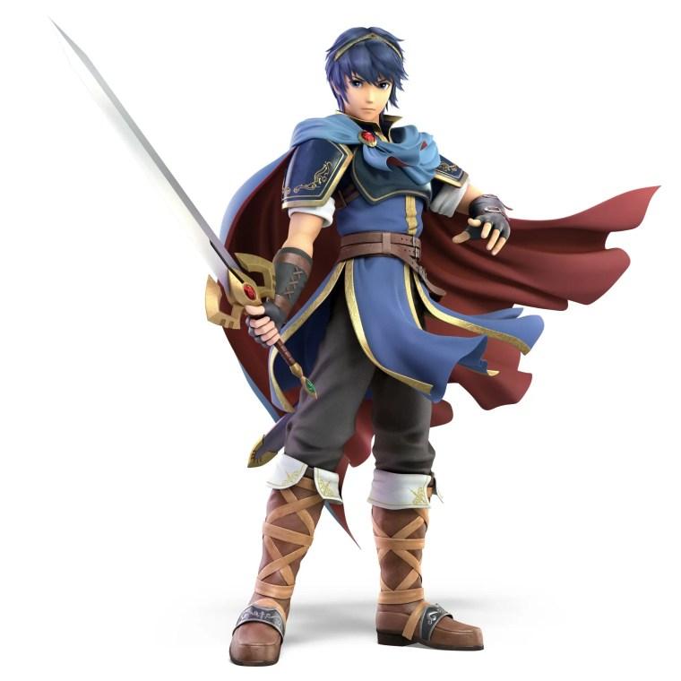 Marth Super Smash Bros. Ultimate Character Render