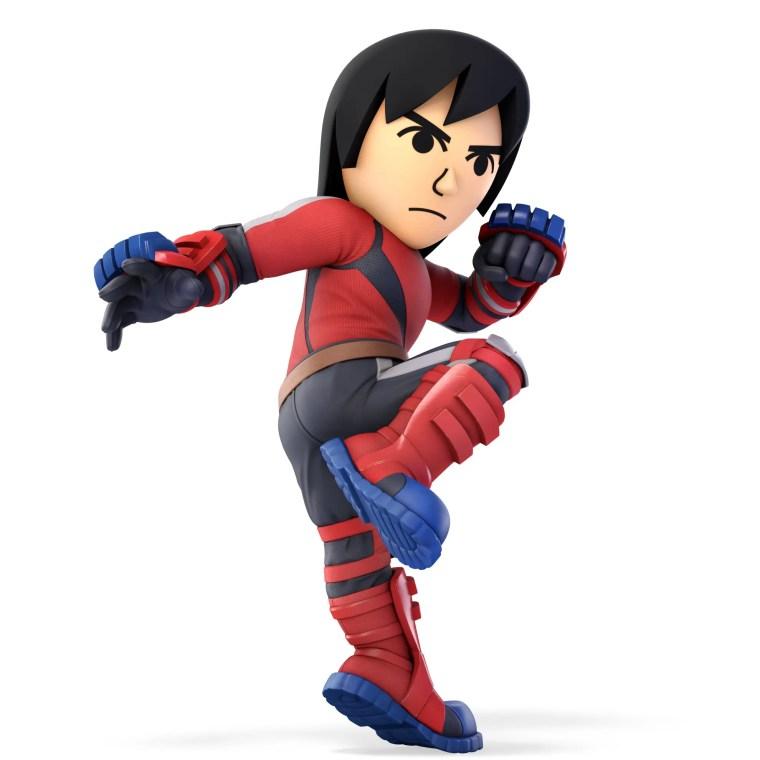 Mii Brawler Super Smash Bros. Ultimate Character Render
