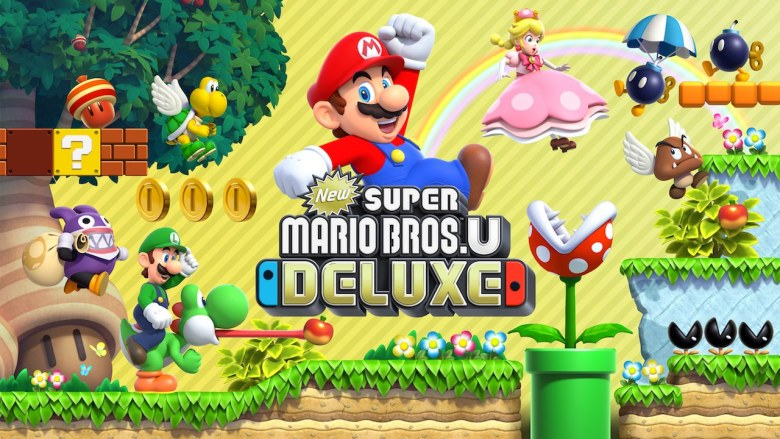 New Super Mario Bros. U Deluxe Illustration