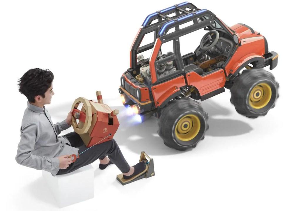 Nintendo Labo Toy-Con 03: Vehicle Kit Review Screenshot 1