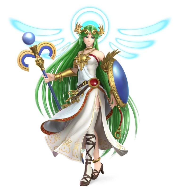 Palutena Super Smash Bros. Ultimate Character Render