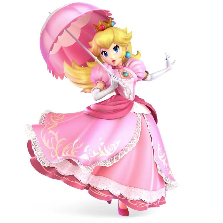 Peach Super Smash Bros. Ultimate Character Render