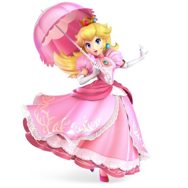 Peach Super Smash Bros. Ultimate Character Render