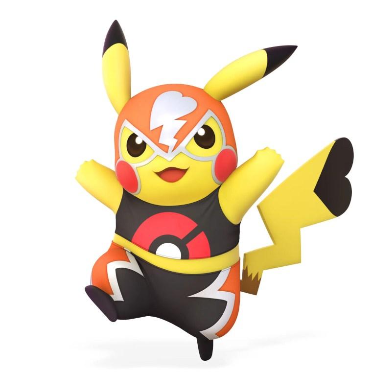 Pikachu Libre Super Smash Bros. Ultimate Character Render