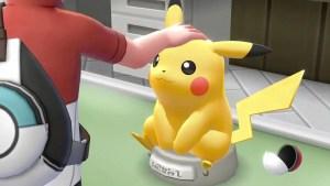 Pokémon Let's Go, Pikachu! Screenshot