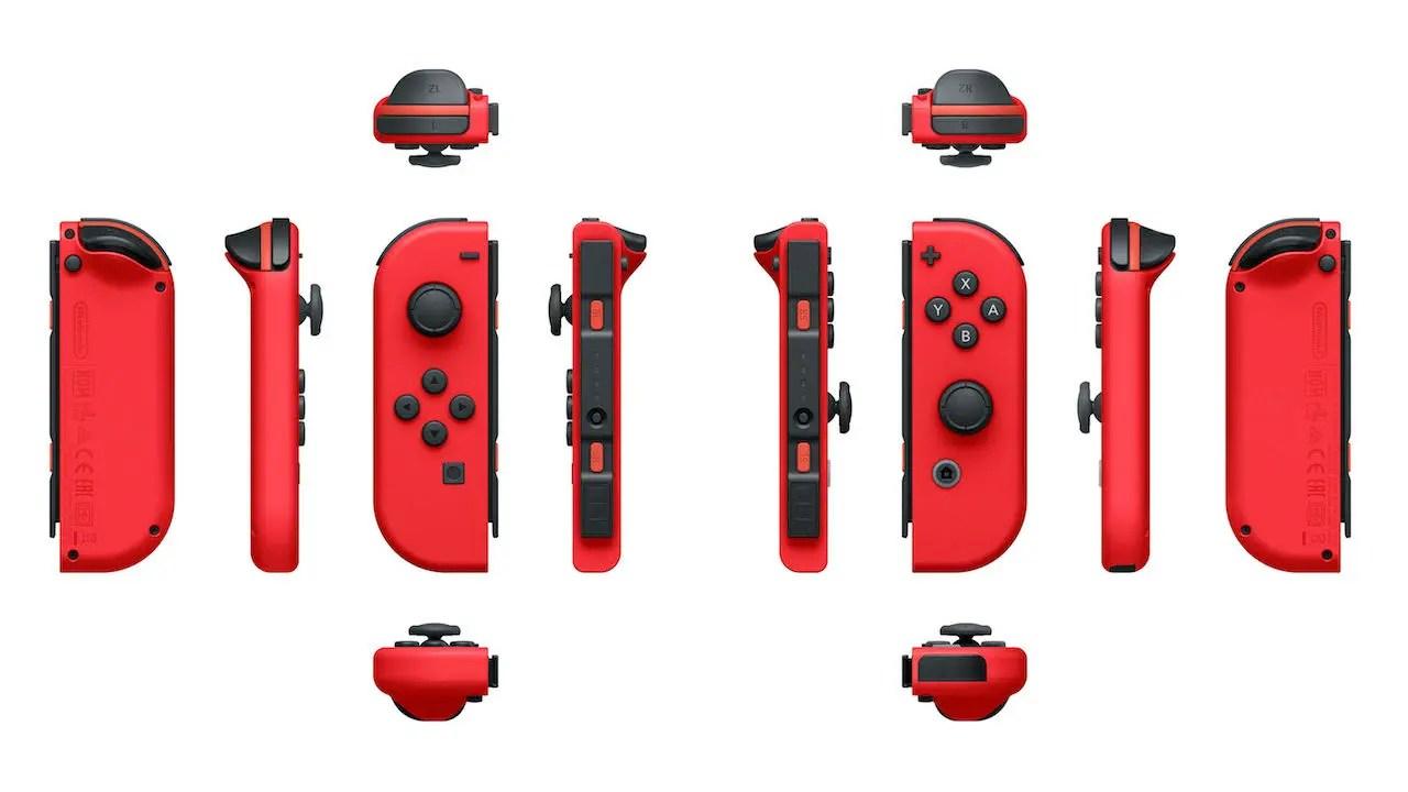 Red Nintendo Switch Joy-Con Photo
