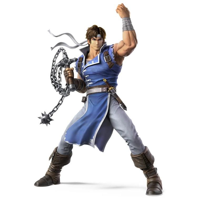 Richter Belmont Super Smash Bros. Ultimate Character Render