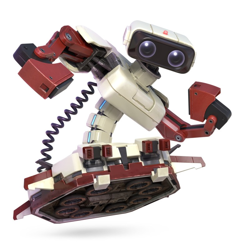 R.O.B. Super Smash Bros. Ultimate Character Render