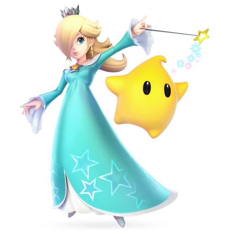 Rosalina Super Smash Bros. Ultimate Character Render