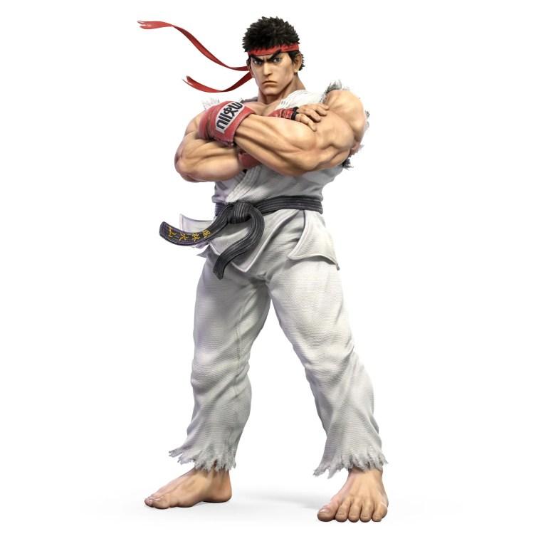 Ryu Super Smash Bros. Ultimate Character Render