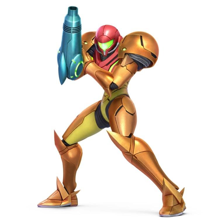 Samus Super Smash Bros. Ultimate Character Render