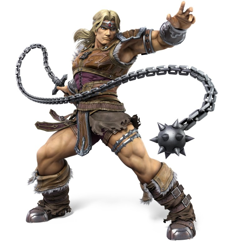 Simon Belmont Super Smash Bros. Ultimate Character Render