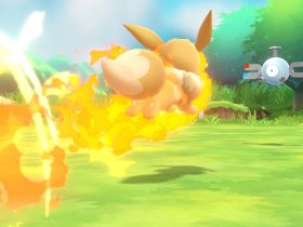 Sizzly Slide Pokémon Let's GO, Eevee! Screenshot